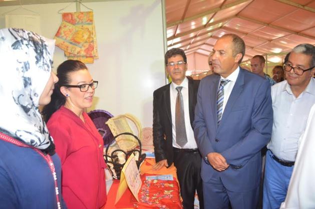 الصناعة التقليدية فن وإبداع : شعار المعرض الجهوي المقام بمدينة بركان
