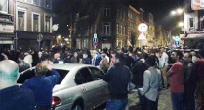 شجار قوي بين بلجيكيين ومغاربة يحدث فوضى عارمة ببلجيكا