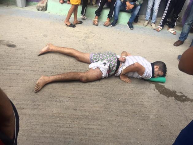 بالفيديو و الصور : الرصاص يلعلع بطنجة مجددًا خلال توقيف تاجر مخدرات