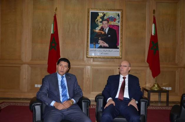 شراكة وتعاون بين وزارة بيرو  ومجلس جهة الشرق وولاية الجهة في مجال الهجرة واللجوء.