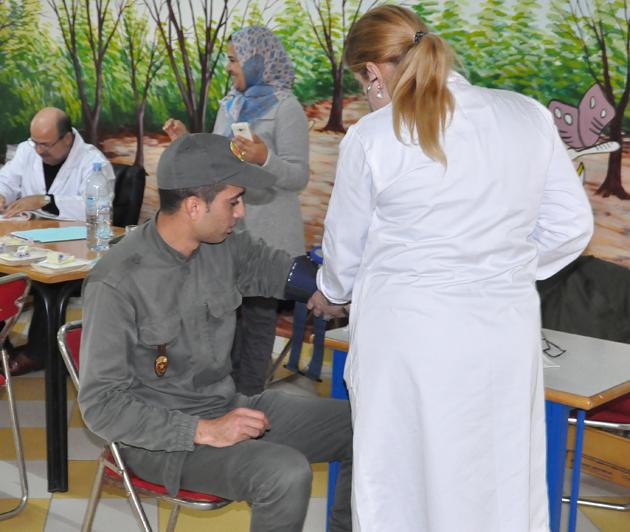 تبرع بدم تغطية كاملة من طرف اصوات سيتي ببني انصار