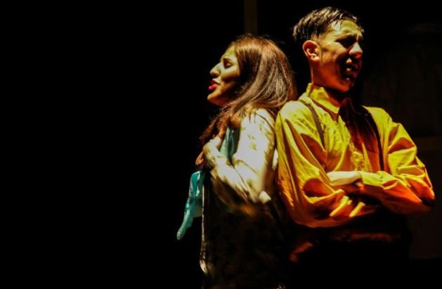 """مسرحية """"ثاونكينت"""" لفرقة امنزا للمسرح والتراث تتحف زوار دار الثقافة بالحسيمة"""