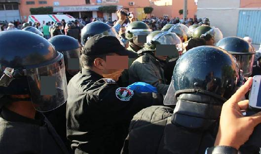 """المديرية العامة للأمن الوطني توضح حقيقة استعمال """"صواعق كهربائية"""" لتفريق الاحتجاجات"""
