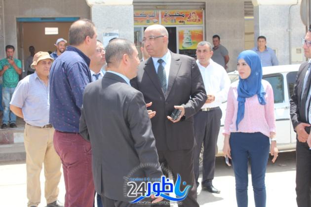 شاهد بالفيديوا والصور:عامل إقليم الدريوش في زيارة لمجلس جماعة دار الكبداني ويتواصل مع مواطنيها