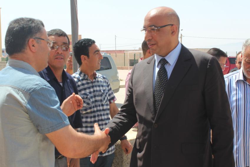 وزارة الداخلية تمنــع عامل الدريوش محمد رشدي من العطلة لهذا السبب