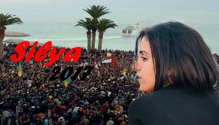 بالفيديوا:سيليا تغني للحراك بعد خروجها من السجن  مباشرة