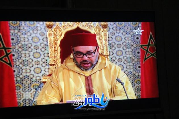 عامل الدريوش يترأس مراسيم حفل الإنصات للخطاب الملكي بمناسبة ثورة الملك والشعب