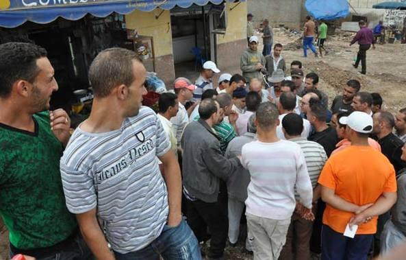 تجار سوق بني انصار يجدون مخرجا لأزمة هدم محلاتهم