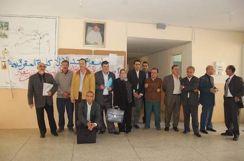 فضائح  بمسلك الماستر في القضاء والتحكيم بجامعة محمد الأول بوجدة