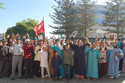 غضب واحتجاج لسكان حي النّجد بوجدة