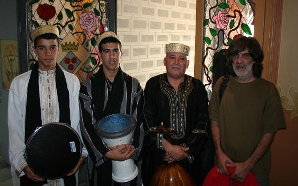 مغاربة كاتالونيا يحتفون بنادي الوفاق في حفل شاي رسمي