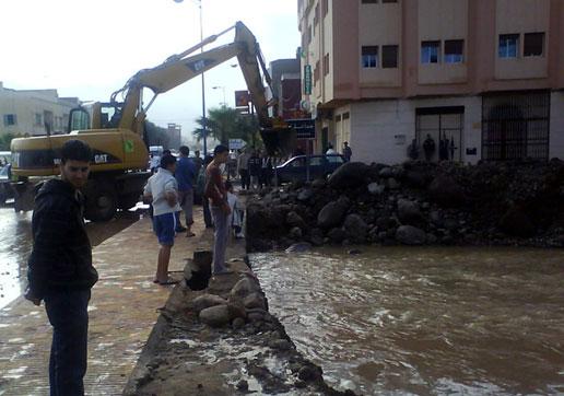 فيضانات النّاظور.. فلاش باك بسنة إلى الوراء