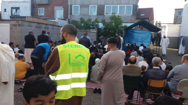 الجالية المسلمة ببلجيكا تحتفل بعيد الأضحى المبارك في أجواء و نسمات روحانية.