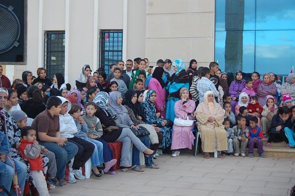 أسبوع  ناجح  لجمعيات عصافر السلام والجرف الأخضر للتنمية والأمل المغربي بوجدة