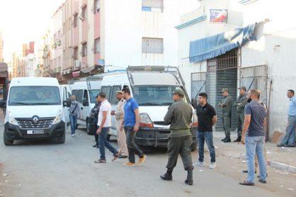 السلطات تسترجع شوارع من محتليها في الناظور