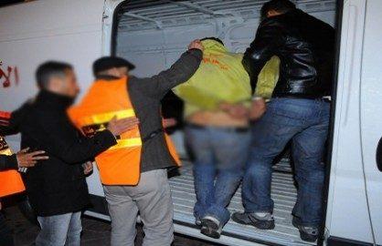 ترحيل مشردين من بني انصار على متن حافلتين إلى مدنهم