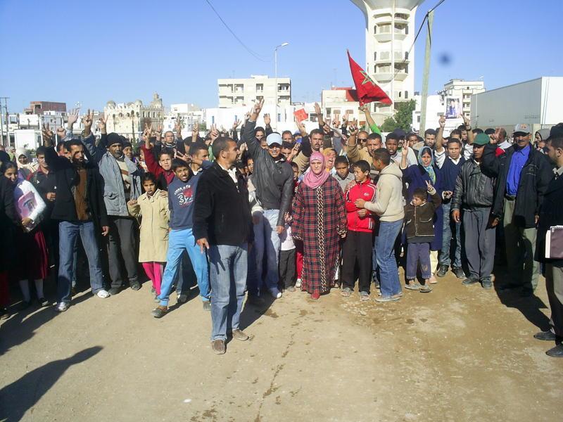 تطوان: هدم المئات من المساكن بحي الديزة