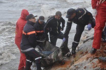 مأساة : وفاة مهاجر و انقاذ 17 اخرين عرض سواحل الناظور