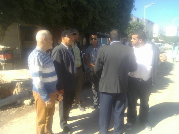 بالصور:السلطات المحلية ببن الطيب تفعل قرار المجلس البلدي لتحرير المدينة من ظاهرة احتلال الملك العمومي