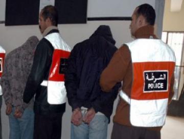 الشرطة تلقي القبض على لص سرق أشياء غريبة نواحي الناظور