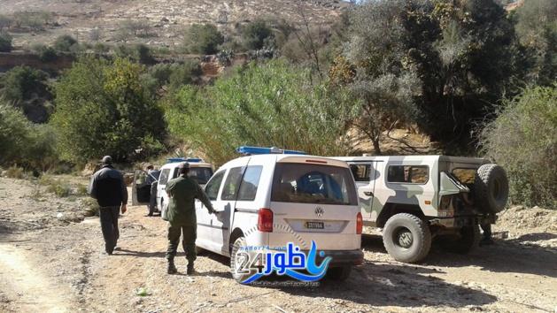 بالصور:القوات المساعدة والسلطات المحلية ببنطيب يفجرون قنبلة نواحي جماعة وردانة