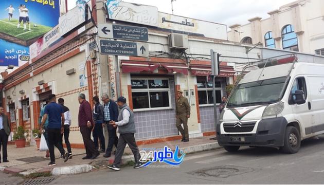 بالصور والفيديوا:باشا الناظور يقود حملة واسعة لتحرير أهم شوارع المدينة