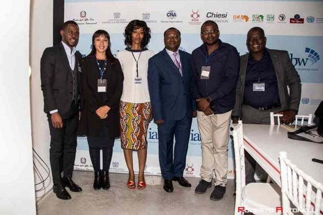 بالصور: انعقاد اول مؤتمر اقتصادي وتجاري في إيطاليا حول افريقيا، والحقوقية بدران تدعو الحضور للاستثمار في المغرب