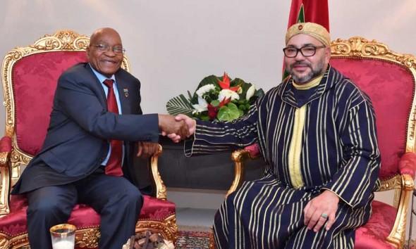 القمة الخامسة للاتحاد الإفريقي -الاتحاد الأوروبي .. جلالة الملك يستقبل بأبيدجان رئيس جمهورية جنوب إفريقيا