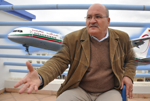 ريفيو دوسلدورف مستاؤون من إلغاء رحلة جوية للعروي