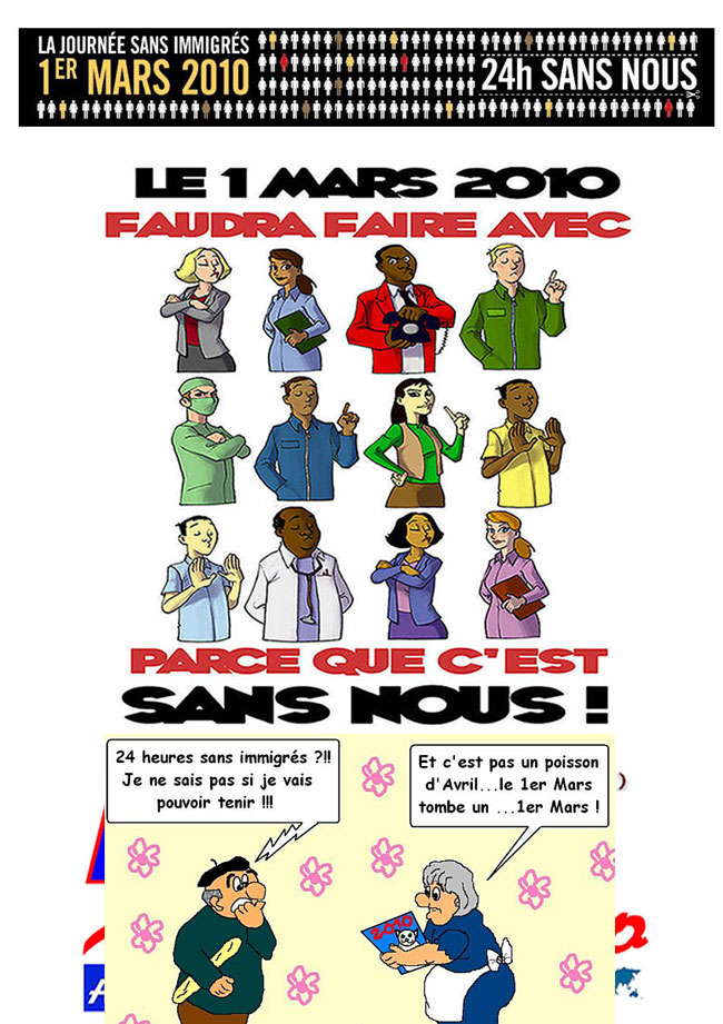ريفيون يضربون احتجاجا بفرنسا يوم 1 مارس