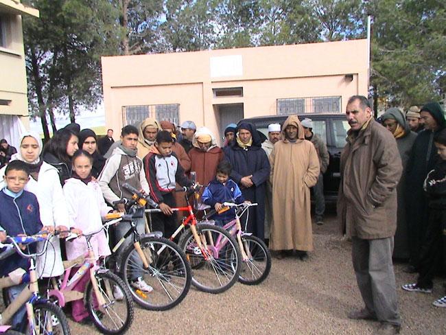 هل توفير دراجات هوائية كفيل بمحاربة الهدر المدرسي؟