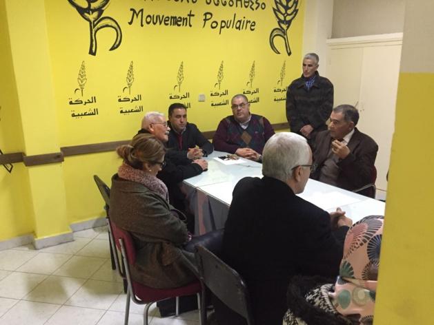 المكتب الاقليمي للحركة يجتمع لتدارس امكانيات دعم الرحموني في انتخابات الاعادة بالناظور