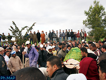 مقتل تلميذين في انهيار سقف منجم للرصاص بسيدي بوبكر