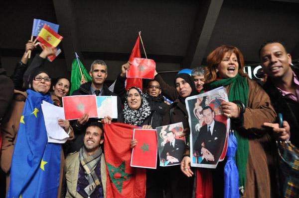 آلاف المشاركين بمسيرة داعمة للمغرب في علاقتِه بأوروبا