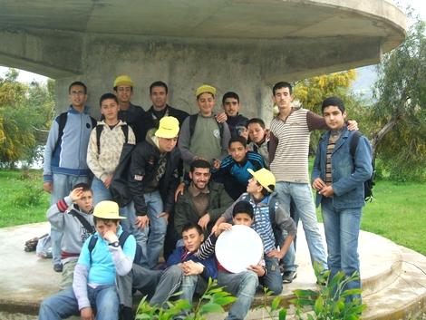 جمعية النسيم في زيارة لسد الخطّابي