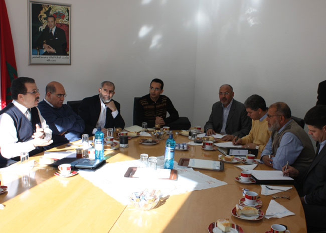 مجلس مغاربة ألمانيا في لقاء تواصلي بفرانكفورت