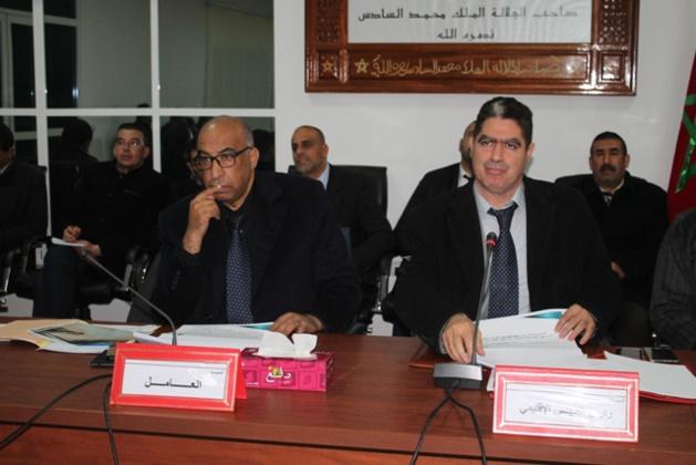 انعقاد الدورة العادية لشهر يناير 2018 للمجلس الاقليمي بالدريوش