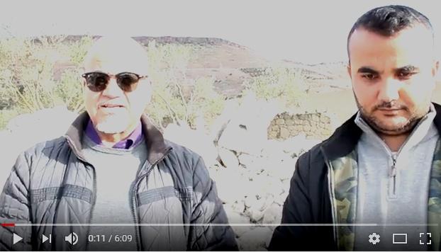 توضيح بالفيديو: المتضررين من الإستيلاء على قطعة أرضية ببني سيدال الجبل