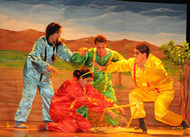 """مسرحية """"لالة ميمونة""""  جديد فرقة الريف للمسرح"""