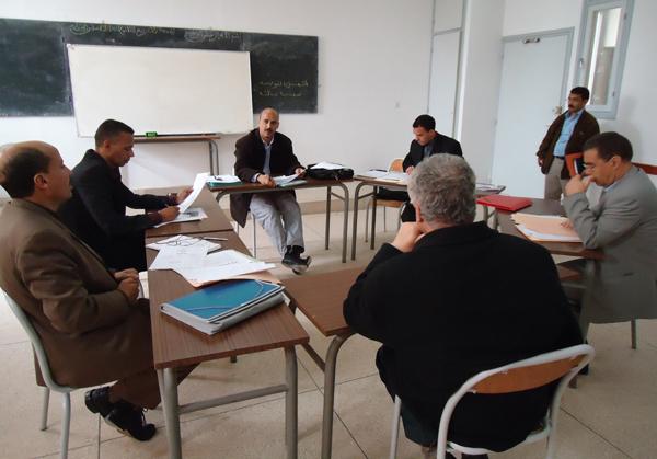 ورشات عمل لمشاريع البرنامج الاستعجالي بأكاديمية الجهة الشرقية