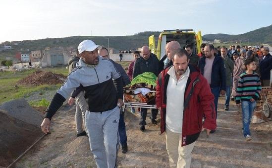 شاهد بالصور:تشييع جنازة الناشط الجمعوي موسى بلغو المعروف بمول الدلاحة الى مثواه الأخير
