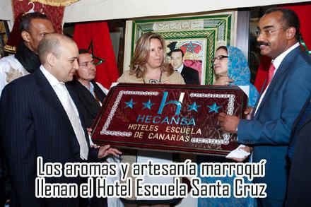 Los Aromas Y Artesanía Marroquí Llenan El Hotel Escuela Santa Cruz