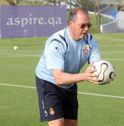 ريفي في صفوف نادي إسانيول برشلونة الإسباني