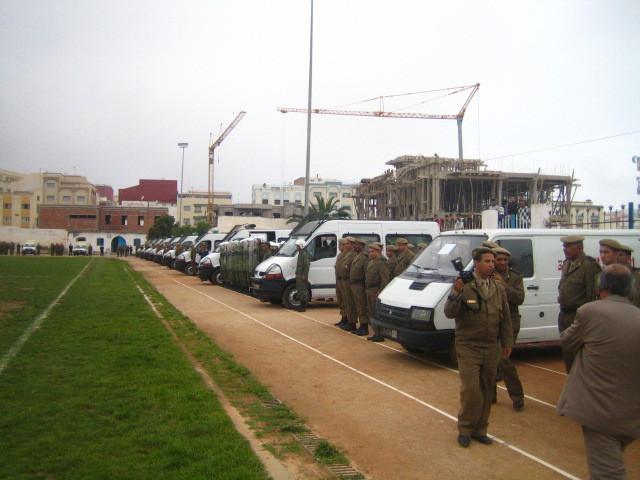 السلطة المحلية تعزز صفوفها بعناصر جديدة من القوات المساعدة بإقليم الحسيمة