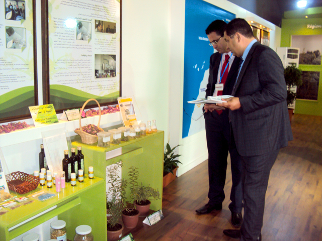 جهة تازة الحسيمة تاونات  في قلب المعرض الدولي الخامس للفلاحة بمكناس