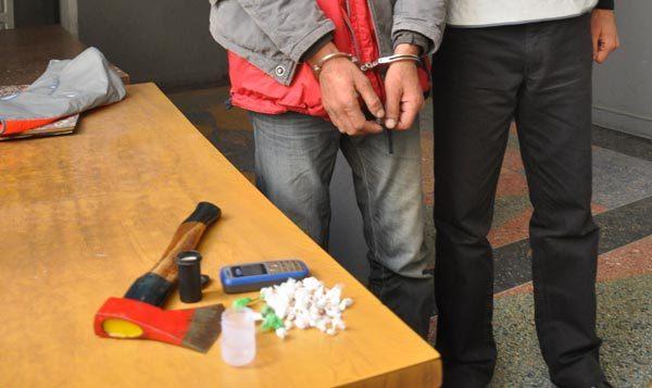 إلقاء القبض على أحد المتهمين بترويج الهيرويين بالحسيمة