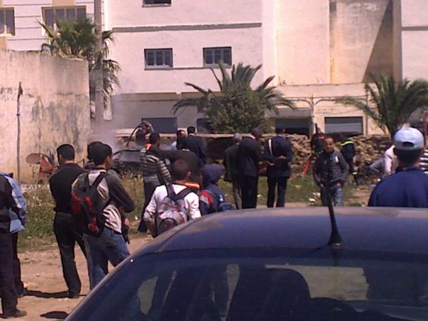 المطالبة بفتح تحقيق في احتراق سيارة في ظروف غامضة وسط مدينة ترجيست