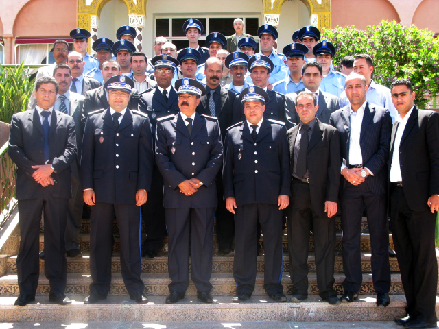 أسرة الأمن بالحسيمة تحتفل بعيدها الوطني