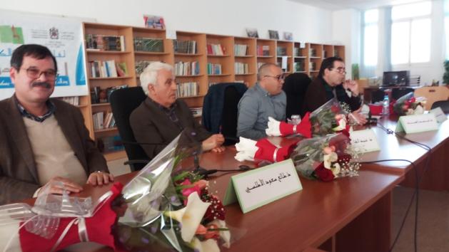 الكاتب المتعدد الأستاذ عبد القادر الشاوي في لقاء مفتوح بالناظور