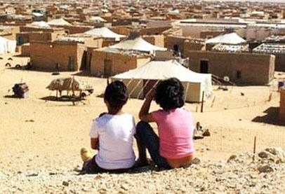 أطفال مخيمات تندوف